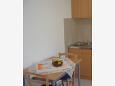 Dining room - Studio flat AS-2835-b - Apartments Supetar (Brač) - 2835