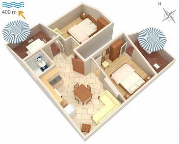 Apartament A-2843-a - Apartamenty Mirca (Brač) - 2843