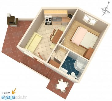 Apartment A-2895-d - Apartments Rogoznica (Rogoznica) - 2895