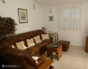 Vela Farska, Living room u smještaju tipa apartment.