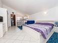Bedroom - Studio flat AS-290-b - Apartments Nin (Zadar) - 290