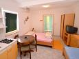 Bedroom - Studio flat AS-2910-a - Apartments Postira (Brač) - 2910