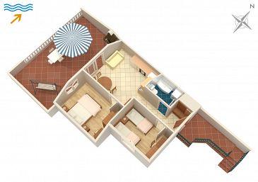 Apartament A-2915-a - Apartamenty Postira (Brač) - 2915