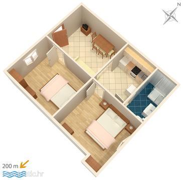 Apartment A-2921-a - Apartments Bol (Brač) - 2921