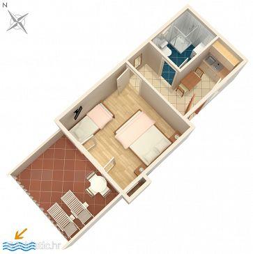 Apartment A-2923-a - Apartments Splitska (Brač) - 2923