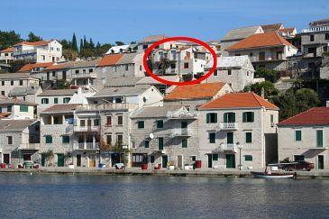Obiekt Povlja (Brač) - Zakwaterowanie 2933 - Apartamenty blisko morza.