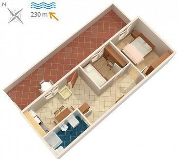 Apartament A-2948-b - Apartamenty Postira (Brač) - 2948