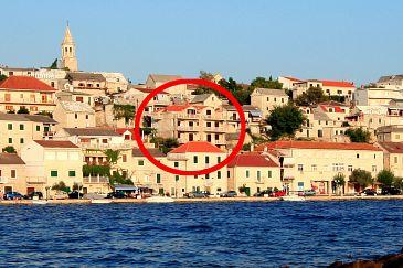 Obiekt Povlja (Brač) - Zakwaterowanie 2958 - Apartamenty blisko morza.