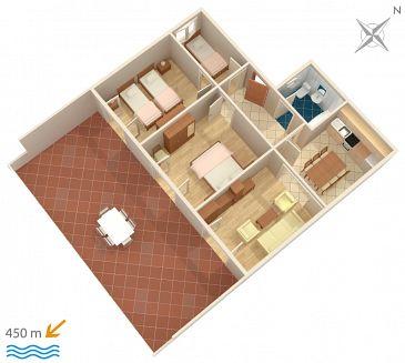 Apartament A-2967-a - Apartamenty Grebaštica (Šibenik) - 2967