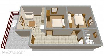 Apartment A-298-b - Apartments Zaton (Zadar) - 298