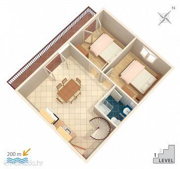 Apartment A-2987-c - Apartments Vinišće (Trogir) - 2987