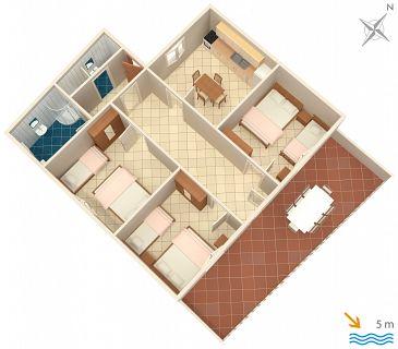 Apartment A-2997-a - Apartments Uvala Tvrdni Dolac (Hvar) - 2997