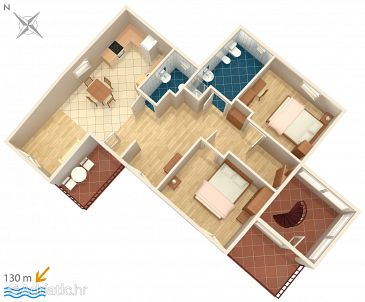 Apartment A-3002-c - Apartments Banjole (Pula) - 3002