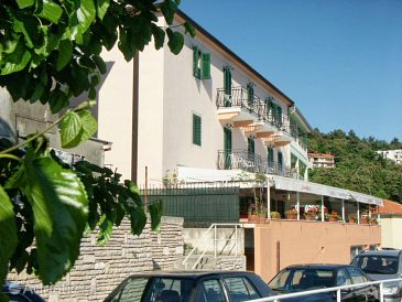 Property Rabac (Labin) - Accommodation 3016 - Rooms near sea with pebble beach.