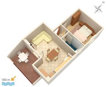 Apartament A-3030-b - Apartamenty Selce (Crikvenica) - 3030