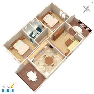 Apartament A-3030-c - Apartamenty Selce (Crikvenica) - 3030