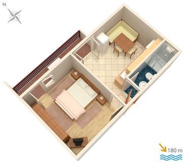 Apartament A-3030-d - Apartamenty Selce (Crikvenica) - 3030