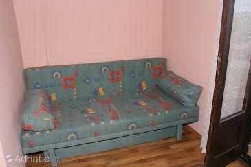 Igrane, Living room u smještaju tipa studio-apartment, WIFI.