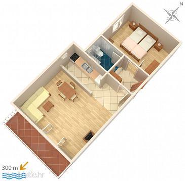 Apartment A-3059-a - Apartments Baška Voda (Makarska) - 3059