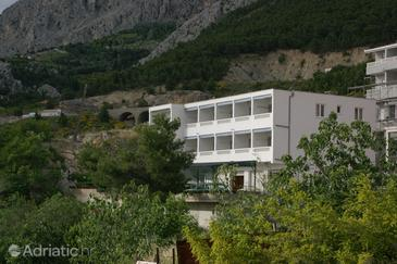 Nemira, Omiš, Property 3061 - Apartments with pebble beach.