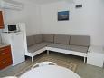 Šimuni, Living room u smještaju tipa apartment, dostupna klima, dopusteni kucni ljubimci i WIFI.