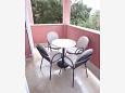 Terrace - Apartment A-3082-d - Apartments Šimuni (Pag) - 3082