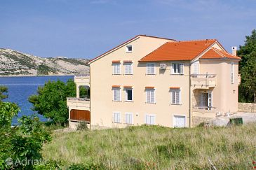 Property Stara Novalja (Pag) - Accommodation 3086 - Apartments near sea.