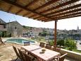 Terrace - view - House K-3101 - Vacation Rentals Sumartin (Brač) - 3101