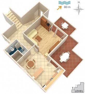 Apartment A-3154-a - Apartments Žrnovska Banja (Korčula) - 3154