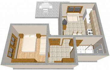 Apartment A-316-a - Apartments Podgora (Makarska) - 316