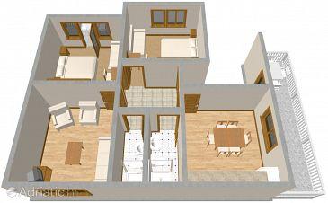 Apartment A-316-b - Apartments Podgora (Makarska) - 316
