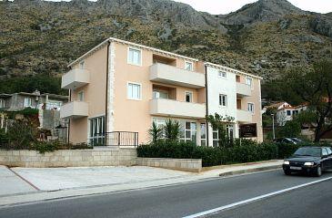 Obiekt Mlini (Dubrovnik) - Zakwaterowanie 3174 - Apartamenty ze żwirową plażą.