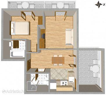 Apartment A-318-a - Apartments Tučepi (Makarska) - 318
