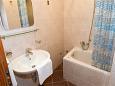 Tučepi, Bathroom 2 u smještaju tipa apartment, WIFI.