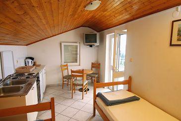 Mlini, Dining room u smještaju tipa apartment, dopusteni kucni ljubimci i WIFI.