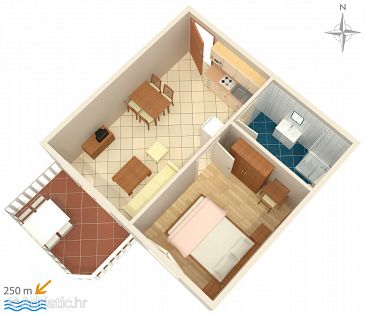 Apartment A-3210-d - Apartments Palit (Rab) - 3210