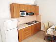 Kampor, Kitchen u smještaju tipa apartment, WIFI.