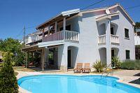 Апартаменты для семьи с бассейном Banjol (Rab) - 3215