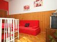 Neviđane, Living room u smještaju tipa apartment, dostupna klima, dopusteni kucni ljubimci i WIFI.