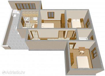 Apartment A-324-a - Apartments Neviđane (Pašman) - 324