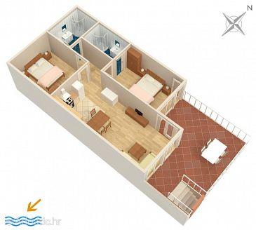 Apartment A-3253-a - Apartments Omiš (Omiš) - 3253