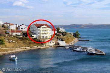 Hébergement Rtina - Miletići (Zadar) - Logement 3257 - Appartement près de la mer.