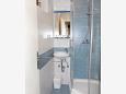 Petrčane, Bathroom u smještaju tipa room, dopusteni kucni ljubimci i WIFI.