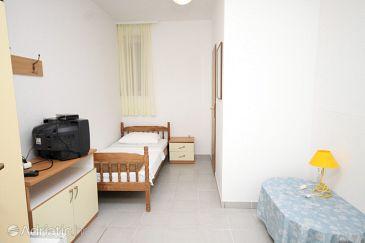 Petrčane, Bedroom u smještaju tipa room, dopusteni kucni ljubimci.