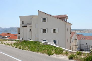 Property Vidalići (Pag) - Accommodation 3309 - Apartments near sea with pebble beach.