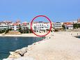 Property Vidalići (Pag) - Accommodation 3313 - Apartments and Rooms near sea with pebble beach.