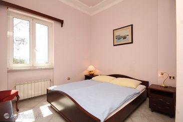 Mošćenička Draga, Bedroom u smještaju tipa room, dopusteni kucni ljubimci i WIFI.