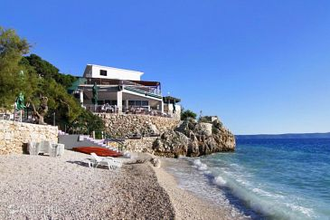 Drašnice, Makarska, Property 3329 - Rooms blizu mora with pebble beach.