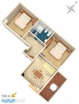 Apartment A-3349-e - Apartments Novigrad (Novigrad) - 3349