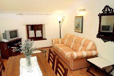 Pilkovići, Living room u smještaju tipa apartment, dopusteni kucni ljubimci i WIFI.